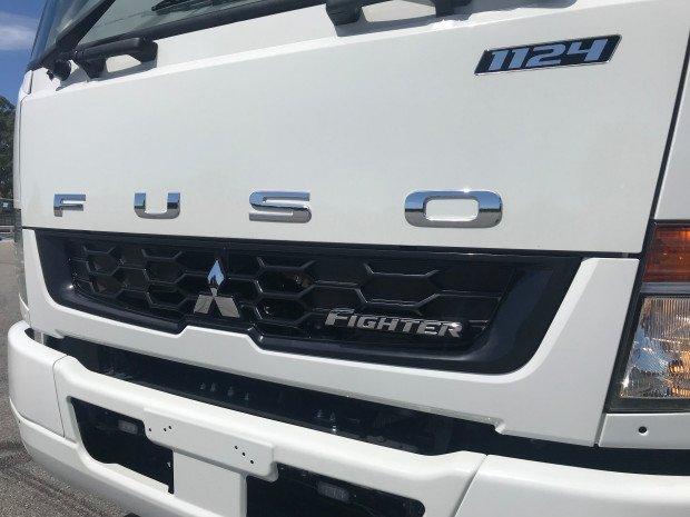 2018 Fuso Fighter 1124 Auto White
