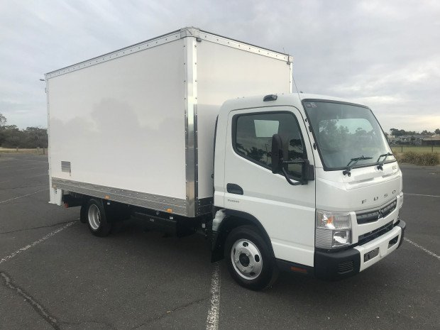 2018 Fuso Canter 515 Wide FEB21ER3SFAN White