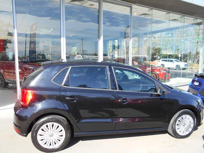 2015 Volkswagen Polo 66TSI Trendline 6R MY15 Black
