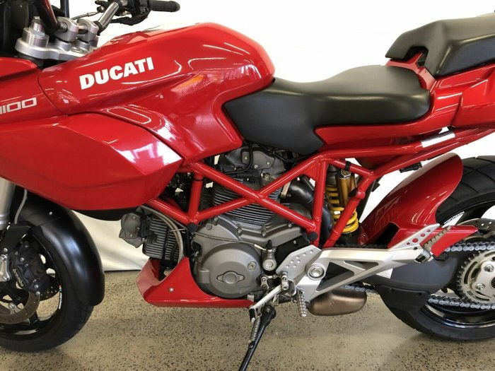 2009 DUCATI MULTISTRADA MTS 1100 Red
