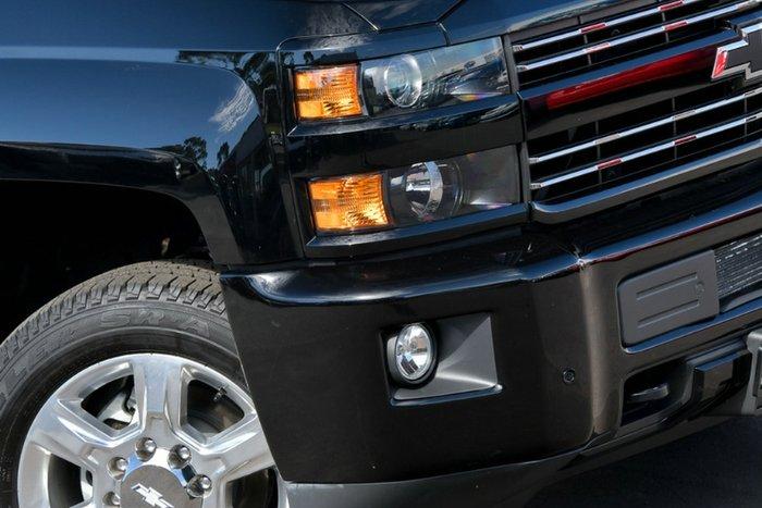 2018 Chevrolet Silverado 2500HD LTZ Midnight Edition C/K25 4X4 BLACK