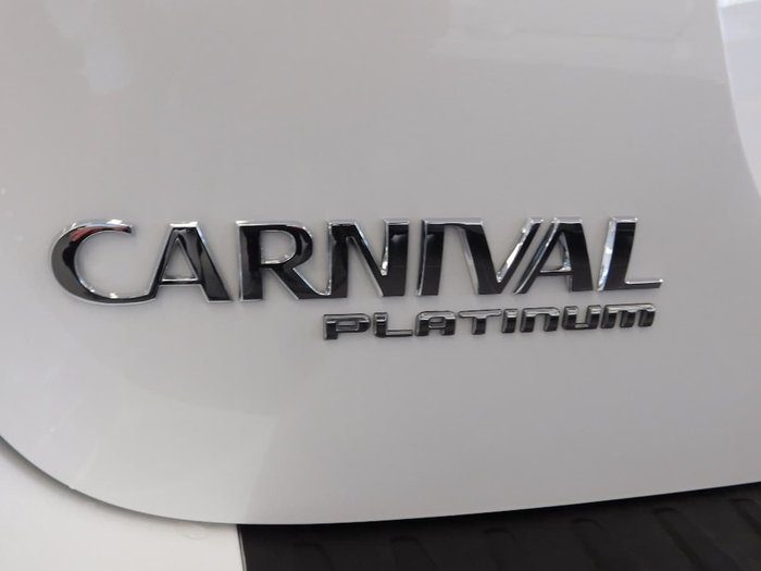 2018 Kia Carnival Platinum YP MY19 White