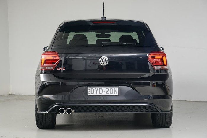 2018 Volkswagen Polo GTI AW MY18 Black
