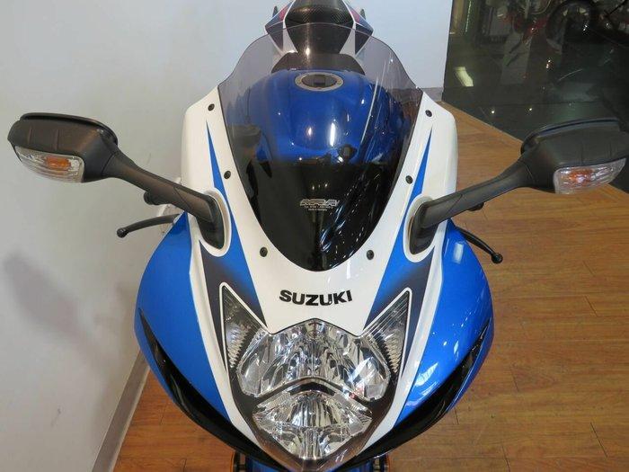 2012 Suzuki GSX-R600 BLUE/WHITE