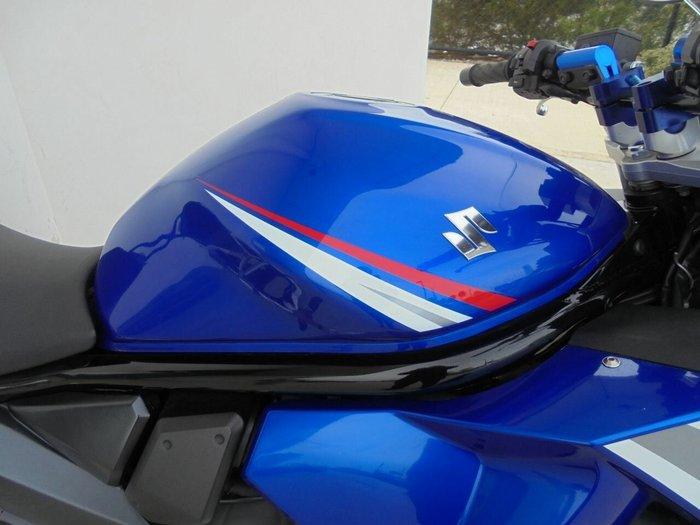2009 Suzuki GSX650F Blue