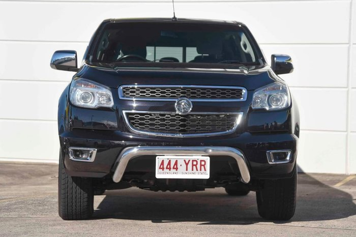 2016 Holden Colorado LTZ RG MY16 4X4 Dual Range Black