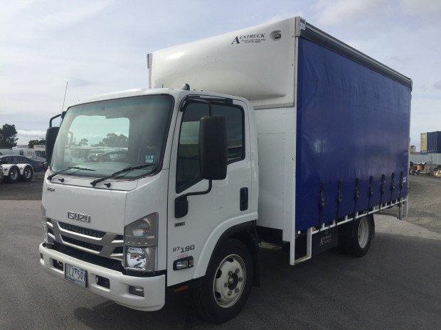 2018 Isuzu NQR 87/80-190 2018 NQR 87-190 CURTAINSIDER