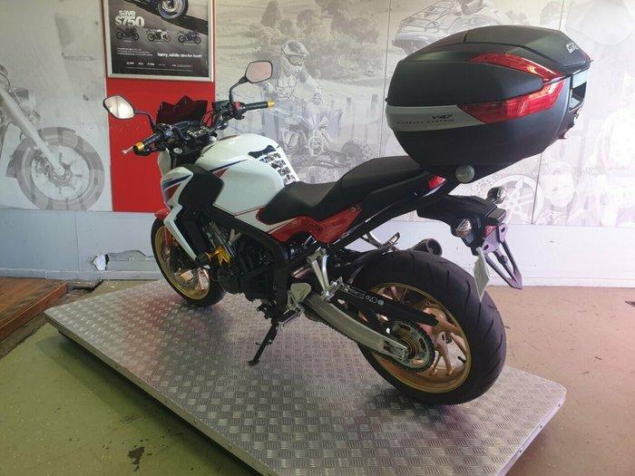 2014 Honda CB650FA (ABS) White