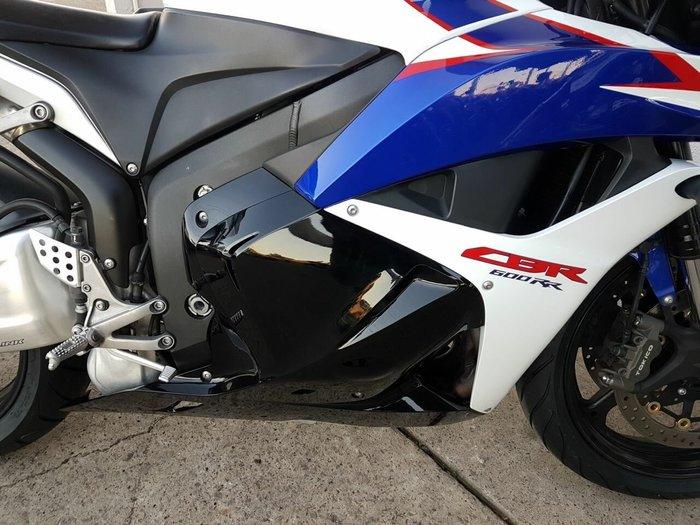 2010 Honda CBR600RR White
