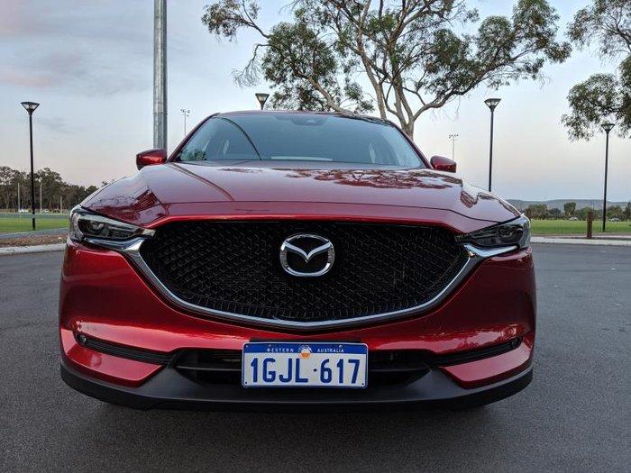 2017 MAZDA CX-5 MAXX (4x2) MY17 RED
