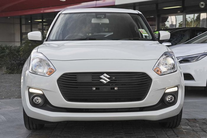 2019 Suzuki Swift GL Navigator Safety Pack AZ White