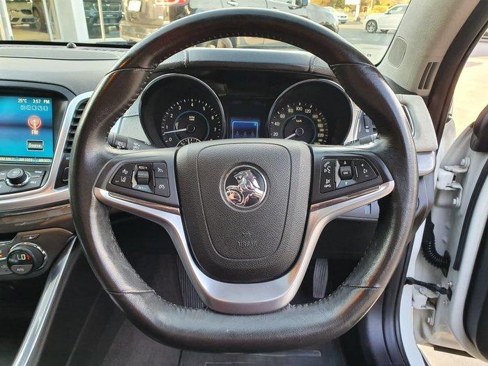 2015 Holden Calais V VF II MY16 White