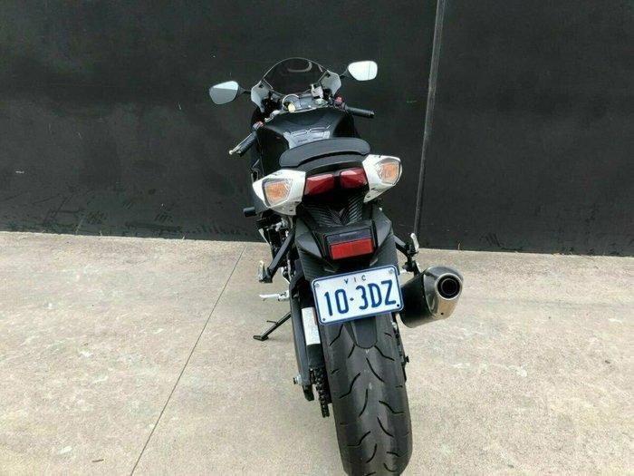 2012 Suzuki GSX-R600 BLACK