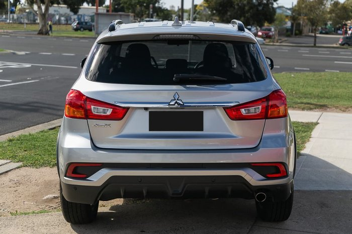 2017 Mitsubishi ASX LS XC MY18 Silver