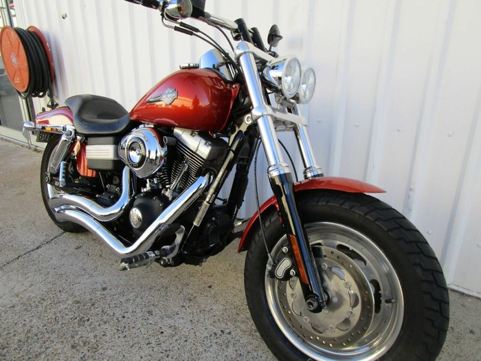 2011 Harley-Davidson FXDF FAT BOB Orange