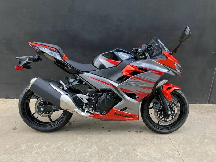 2018 Kawasaki Ninja 400 Orange For Sale At Teammoto Epping