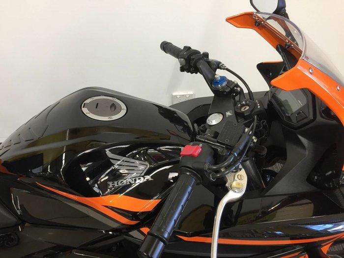 2016 Honda CBR500R ORANGE