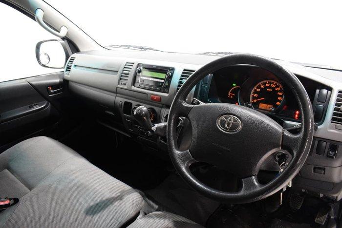 2010 Toyota Hiace KDH201R MY11 White