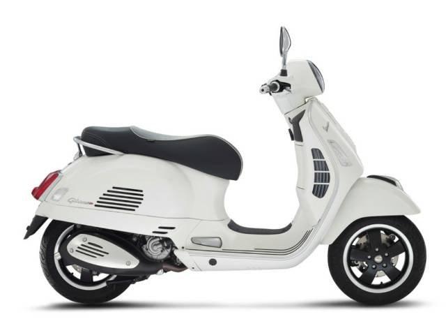 2018 VESPA GTS300 WHITE