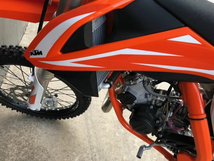0 Ktm 2018 KTM 85CC SX-BW 85 Orange