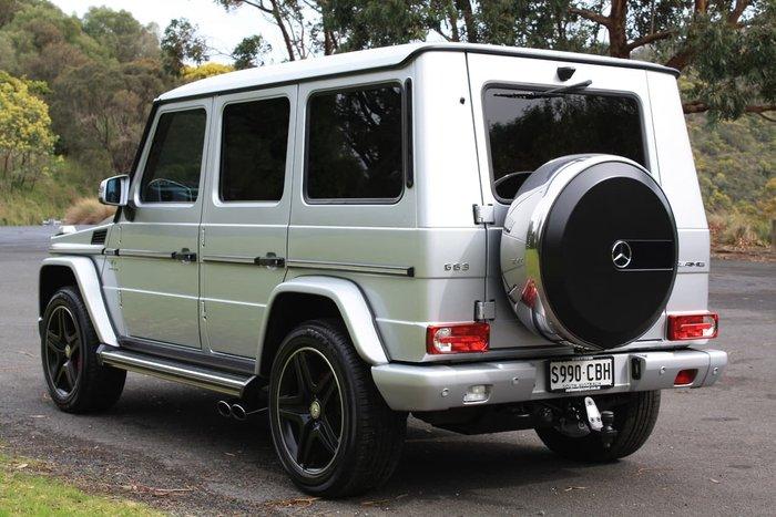 2014 Mercedes-Benz G63 AMG W463 MY14 4X4 Dual Range