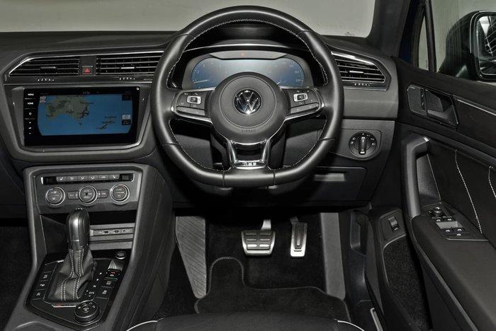 2018 Volkswagen Tiguan 162TSI Highline Allspace 5N MY18 Four Wheel Drive Blue