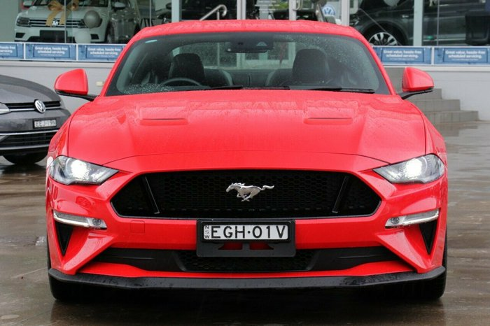 2018 Ford Mustang GT FN 2018MY RED