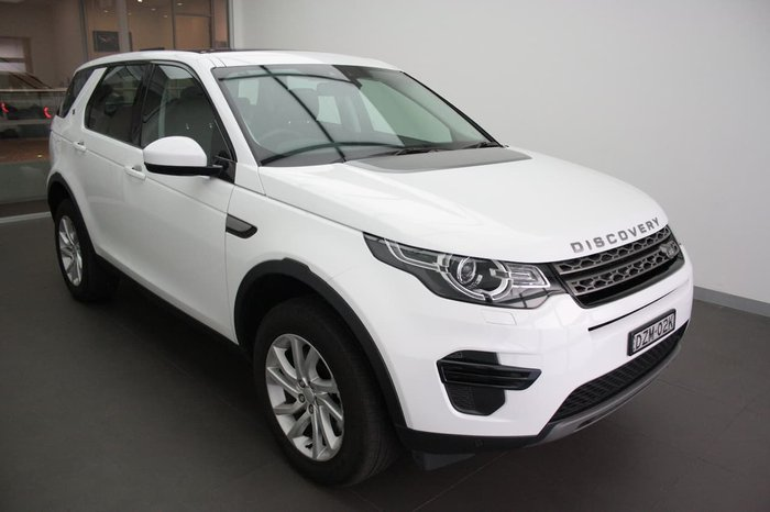 2018 Land Rover Discovery Sport SD4 SE L550 MY18 4X4 On Demand White