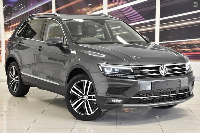 2019 Volkswagen Tiguan 162TSI Highline 5N MY19.5 Four Wheel Drive Grey