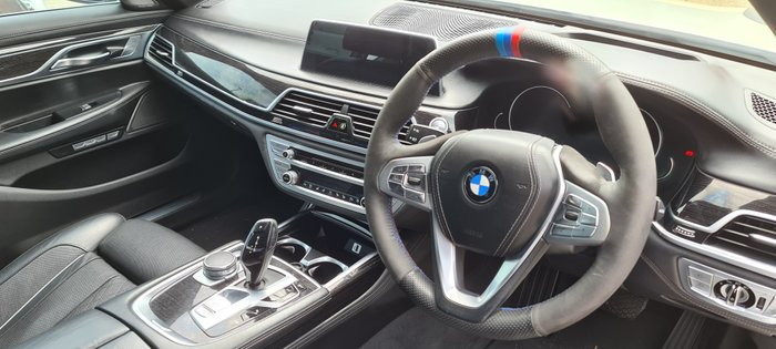 2015 BMW 7 Series 730d G11 WHITE