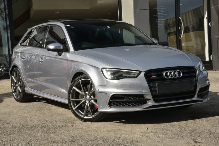 2016 Audi S3 8V MY16 Four Wheel Drive Silver