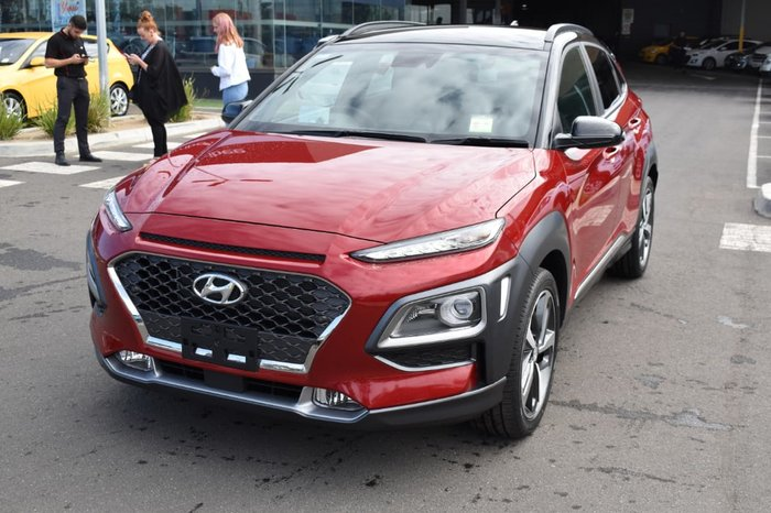 2019 Hyundai Kona Highlander OS.2 MY19 Red