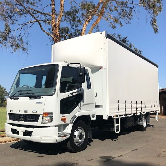2018 FUSO FIGHTER 1024 BUILT READY 10 PALLET TAUTLINER null null null