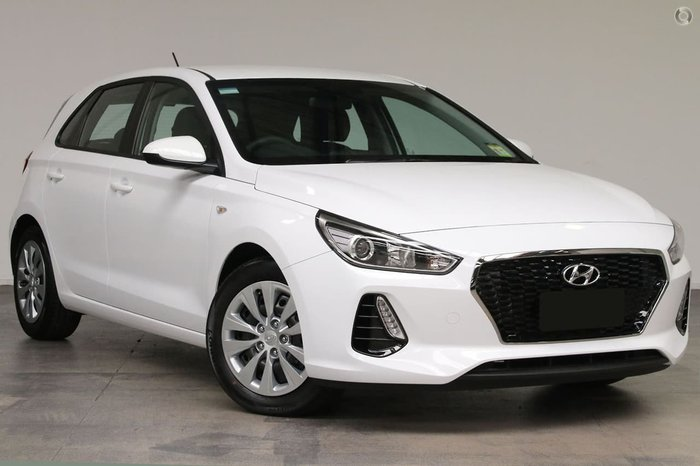 2018 Hyundai i30 Go PD MY18 White