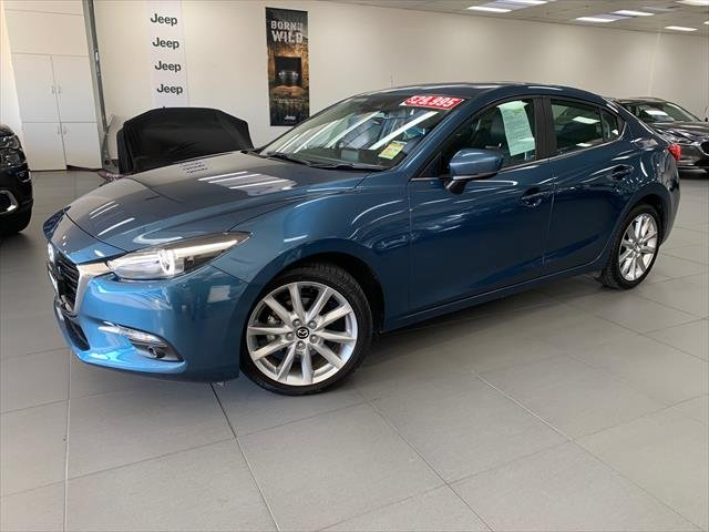2018 MAZDA Mazda3 SP25 GT MAZDA3 M 6AUTO SEDAN SP25 GT Eternal Blue