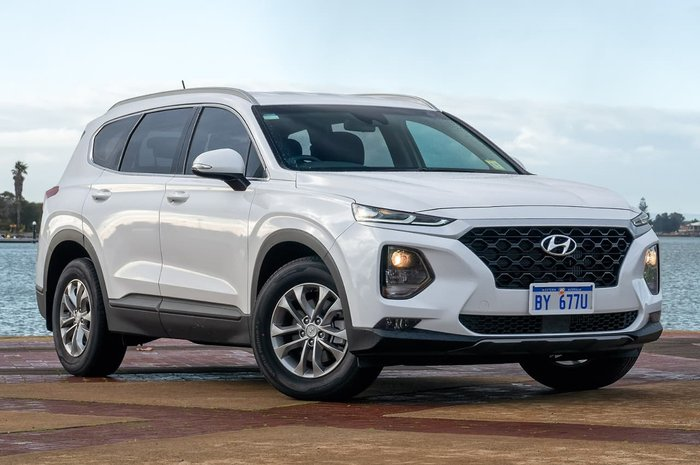 2018 Hyundai Santa Fe Active TM MY19 4X4 On Demand White
