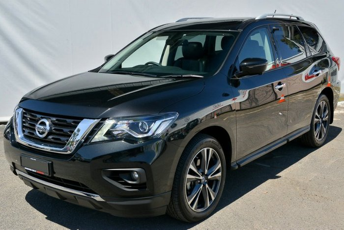 2018 Nissan Pathfinder Ti R52 Series II MY17 4X4 On Demand DIAMOND BLACK