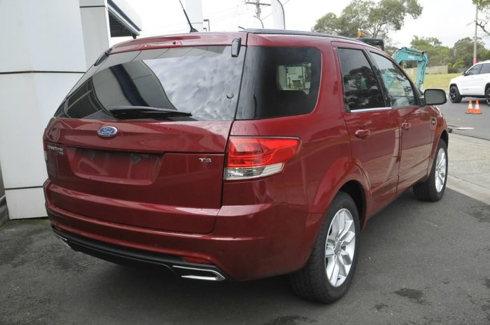 2016 Ford Territory TS SZ MkII Red