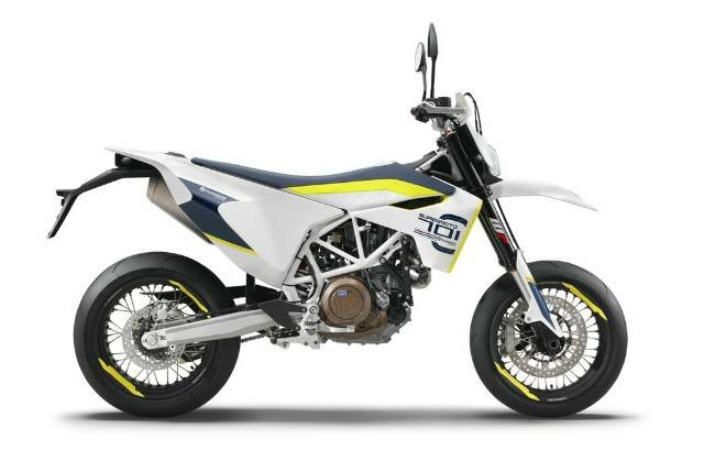2018 HUSQVARNA 701 SUPERMOTO - 2018 WHITE
