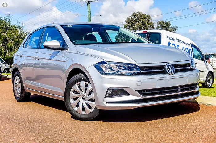 2018 Volkswagen Polo 70TSI Trendline AW MY19 Silver