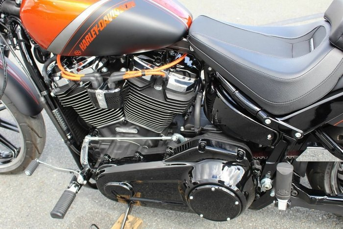 0 Harley-davidson 2019 HARLEY DAVIDSON 1800CC FXBR BREAKOUT Orange and Black