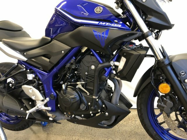2017 Yamaha MT-03 (MT03LA) (ABS) Blue