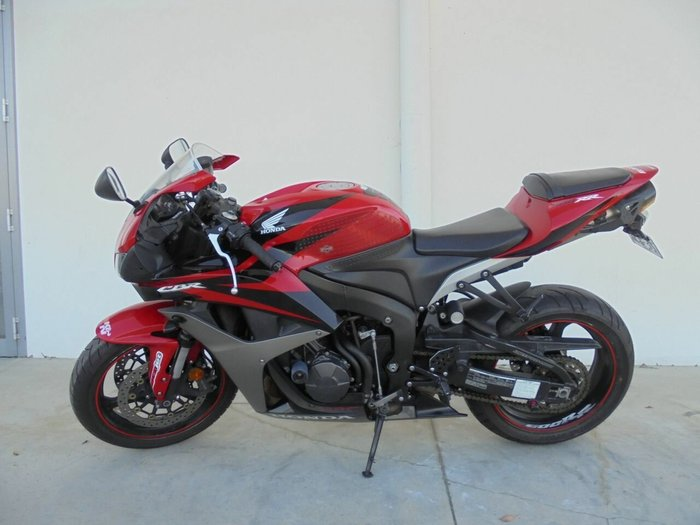 2007 Honda Cbr600rr Red For Sale In Carrum Downs At Teammoto