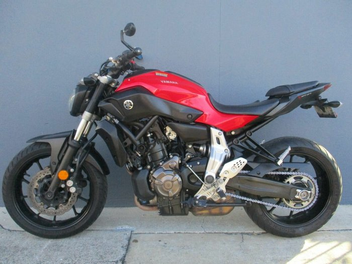 2014 Yamaha MT-07 Red