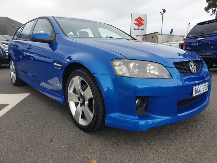 2008 Holden Commodore SS V VE MY09 Blue