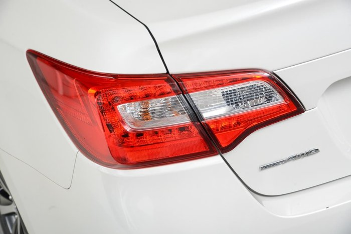 2016 Subaru Liberty 2.5i 6GEN MY16 Four Wheel Drive White