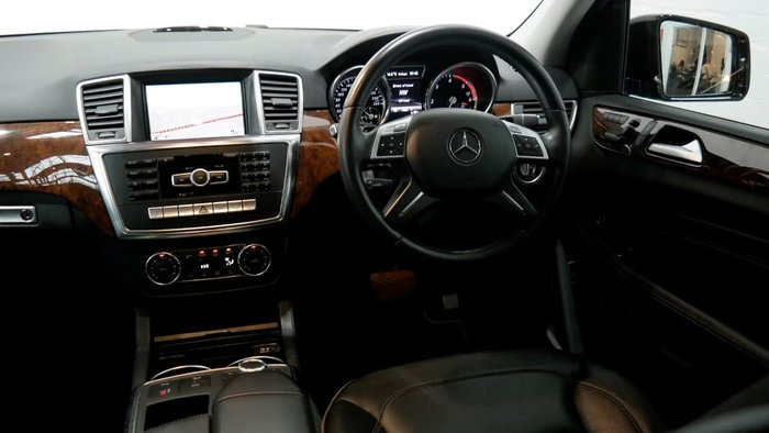 2012 Mercedes-Benz ML350 BlueTEC W166 4X4 Constant Black