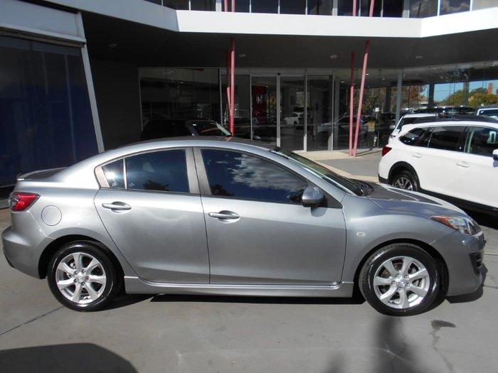 2011 Mazda 3 Maxx BL Series 1 MY10 Silver