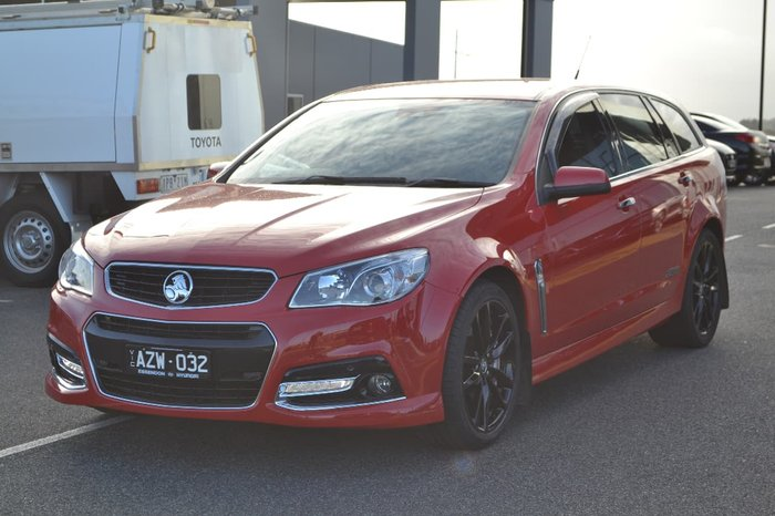 2014 Holden Commodore SS V Redline VF MY15 Red