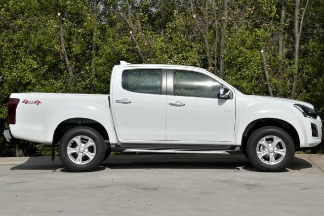 2019 ISUZU D-MAX LS-U DUAL CAB MY19 SPLASH WHITE